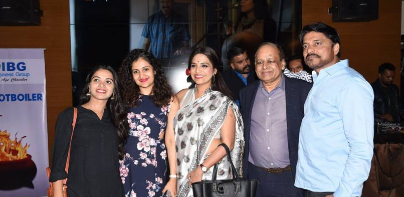 "IBG Entertainment Vertical's Intellectual platform for short films and talent – IBG's ""Entertainment Potboiler"" Event — with Anjusha Chaughule and 4 others at The Studs Sports Bar & Grill"