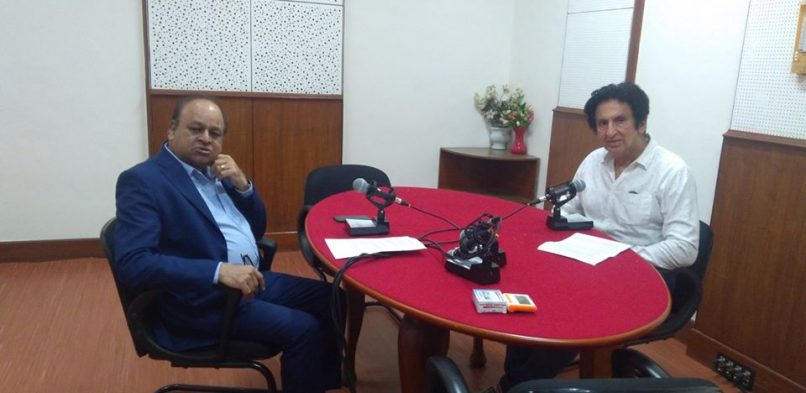"IBG President Mr. Vikash Mittersain's Weekly Radio Talk in  conversation with Mr. Kailash Surendranath, Producer & Advertising Filmmaker on FM Gold Mumbai 100.1Mhtz broadcasted on 7th September 2018 in the program ""Chhoo lo Asmaan""."