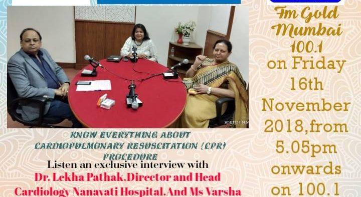 #IBG President Mr. Vikash Mittersain in conversation with Dr. Lekha Pathak, Director & Head Cardiology Nanavati Hospital and Ms. Varsha Goyal Sethi, Trustee of B. K. Goyal Heart Foundation.
