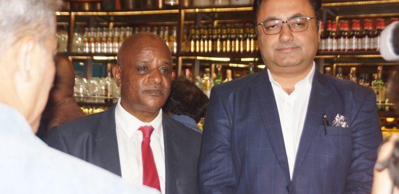 IBG Ethiopian Interaction Workshop — with Demeke Atnafu and Vishal Wadhwani.