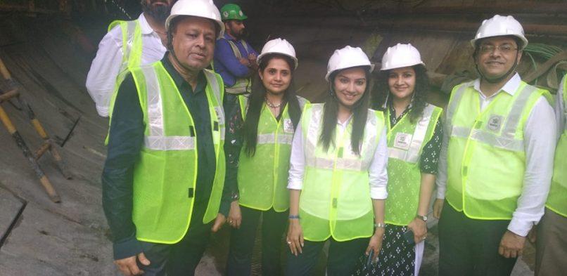 #IBG visit to Metro Tunneling site