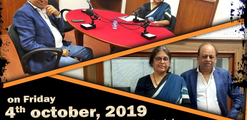 #IBG President Mr. Vikash Mittersain in conversation with Mrs. Rama Bijapurkar, Management Consultant & Professor of Practice, IIM Ahmedabad on 04.10.2019