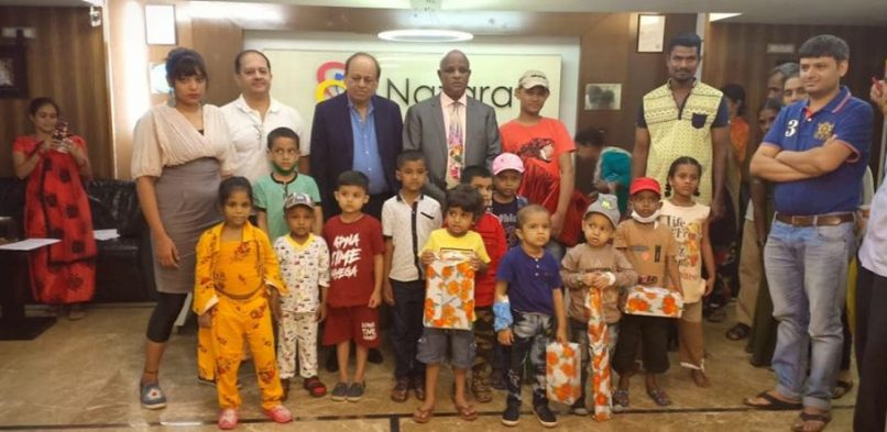 Make A Wish foundation's event at Nazara office with Special guest: H.E. Mr. Demeke Antafu Ambulo, Consul General of The FDRE Ethiopian Consulate, Mumbai on 18.10.2019
