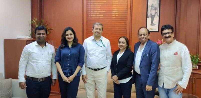 #IBG members today met Shri Satish Kumar Gupta, the Principal Chief Commissioner of Income Tax, Mumbai.