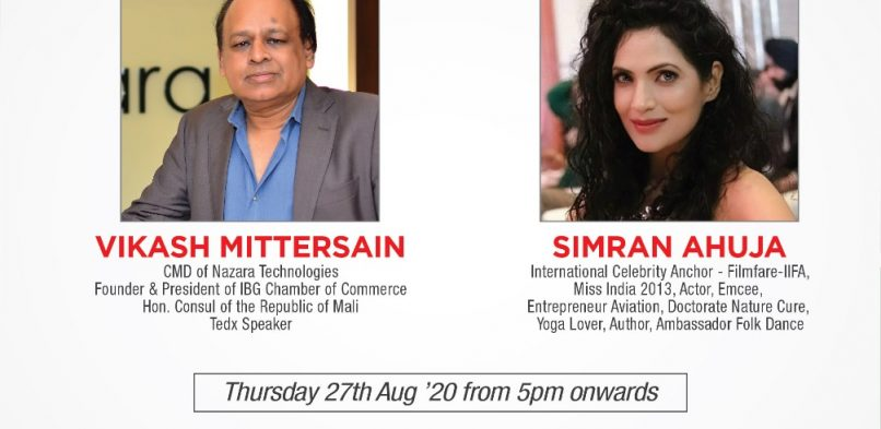 Mr. Vikash Mittersains Live interview – Incredible Indians with Simran Ahuja